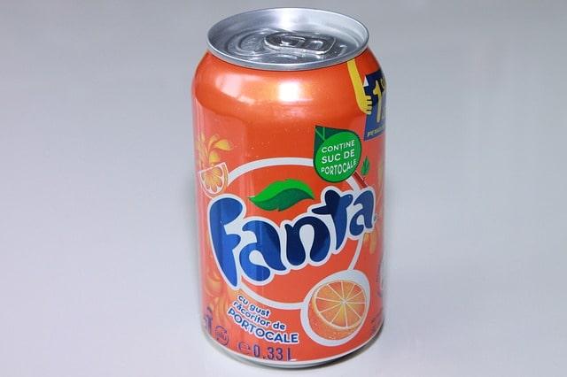 Packaging Fanta couleur Entreprise