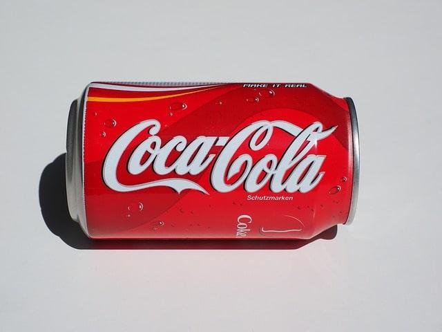 packaging Coca Cola couleur Entreprise