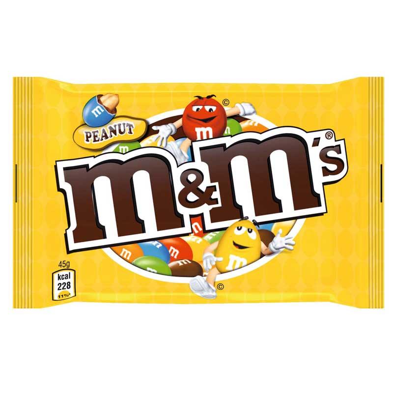 packaging m&ms couleur entreprise