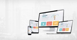 création de site web multi support