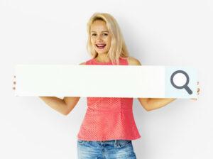 srveur mutuel impact seo femme barre recherche