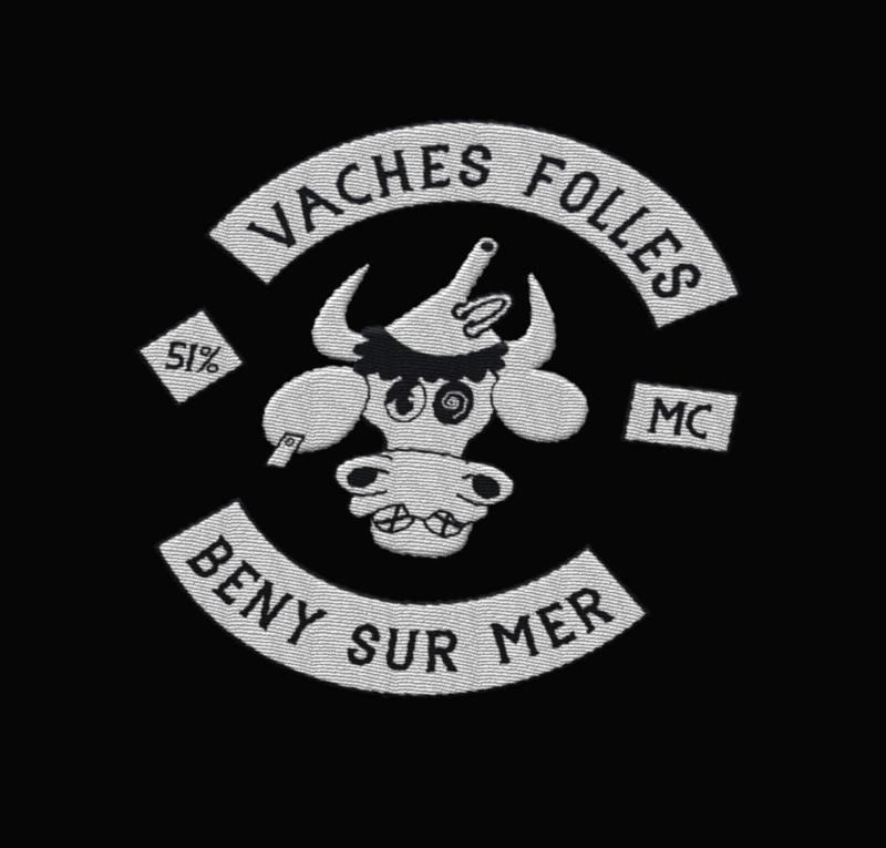 création logo clkub vaches folles