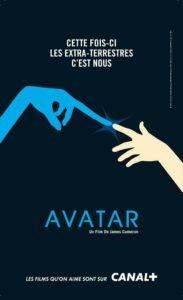 cpnception affiche promotionnelle film avatar