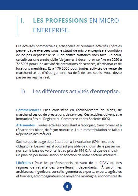 guide auto entrepreneur page 2