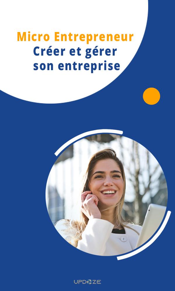 couverture livre créer micro entreprise