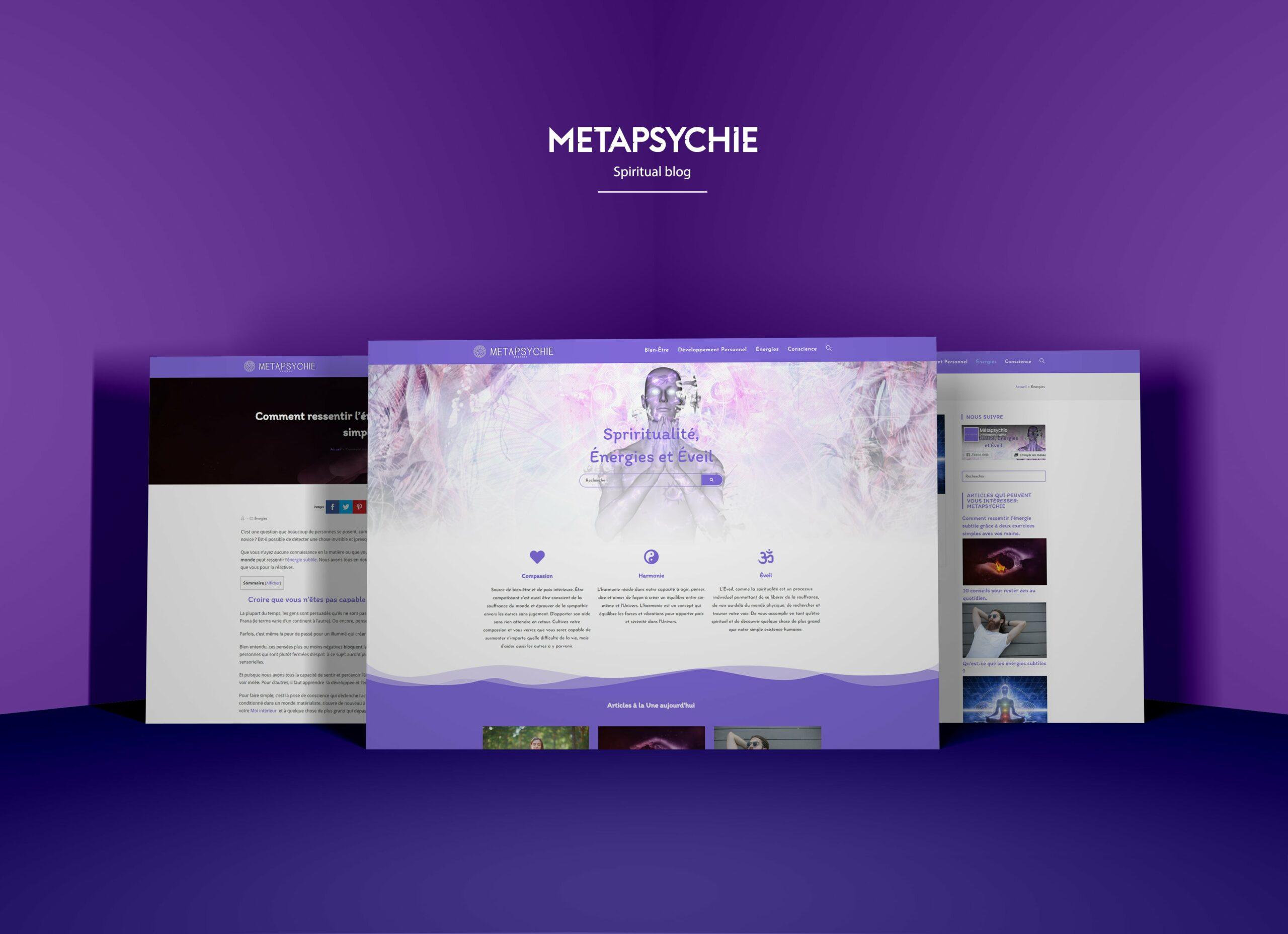 webdesign création de site web wordpress métapsychie