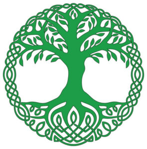 arbe de vie symbole spirituel créer logo thérapeute