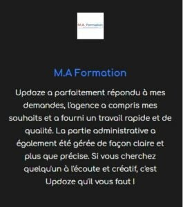 avis client résassurance site web e-commerce