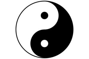 créer logo thérapeute, logo spirituel, logo bien-être yin yang