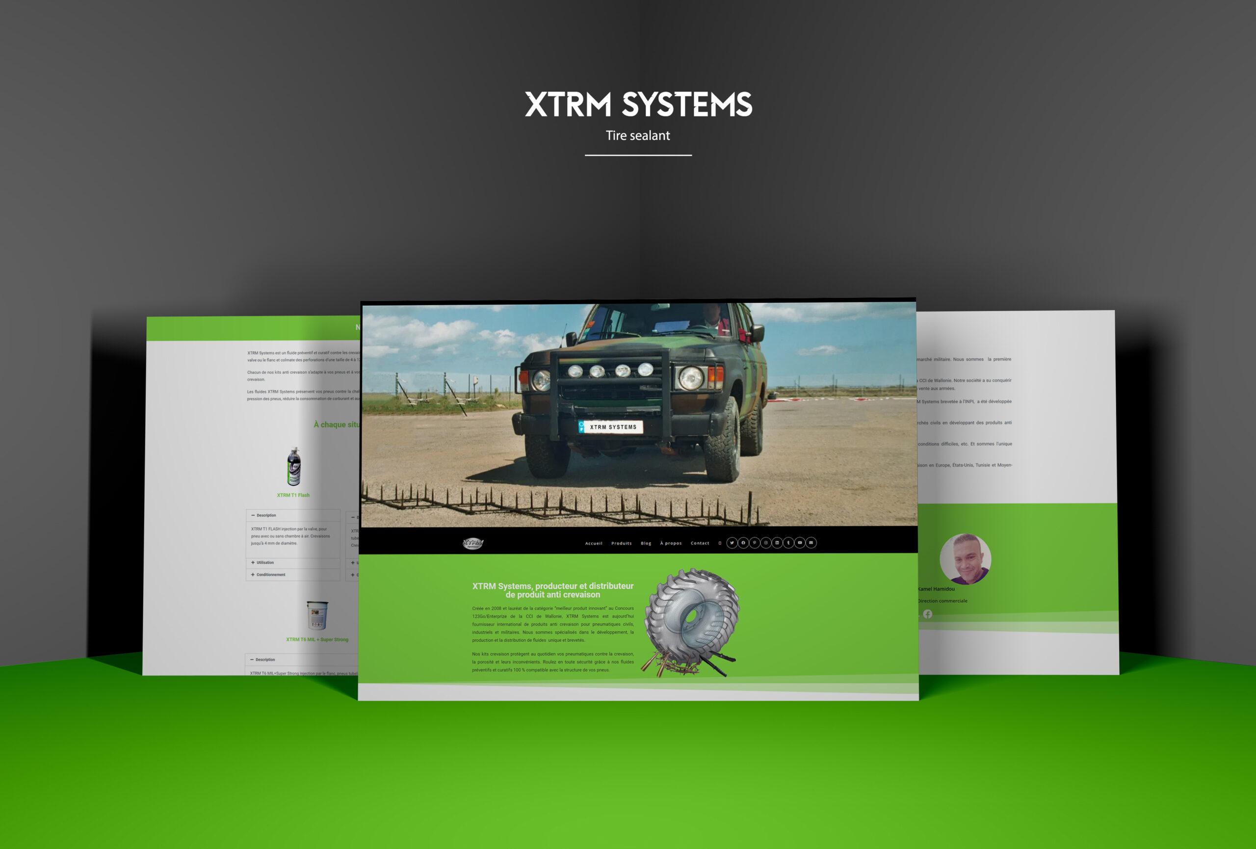 création site web wordpress xtrm systems