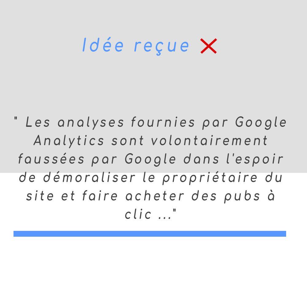 mythe seo google fausse les données