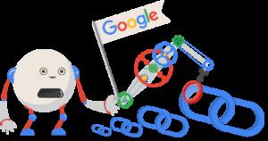 illustration robot e google