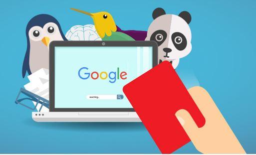 illustration pénalité google