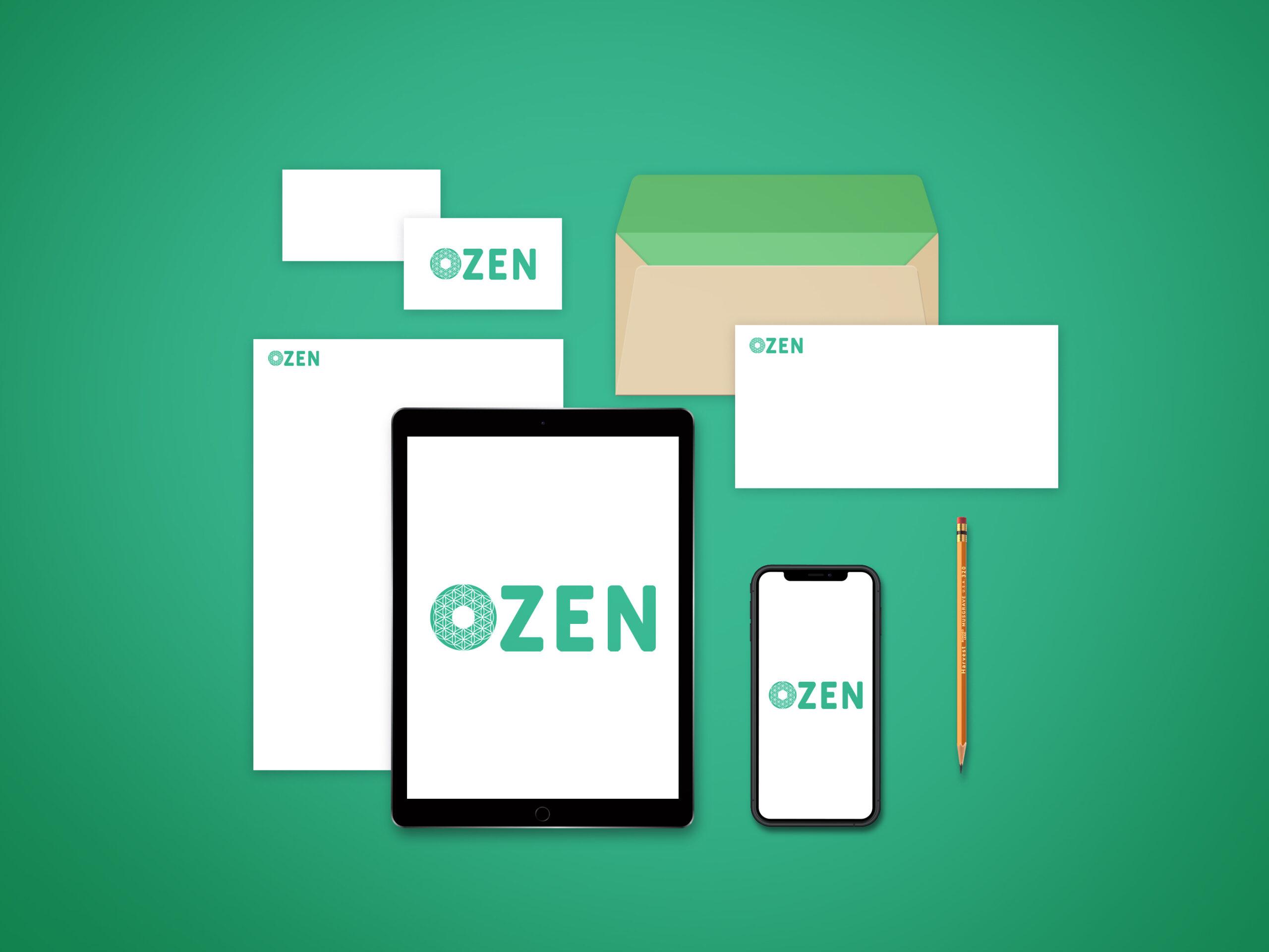 ozen création de logo zen