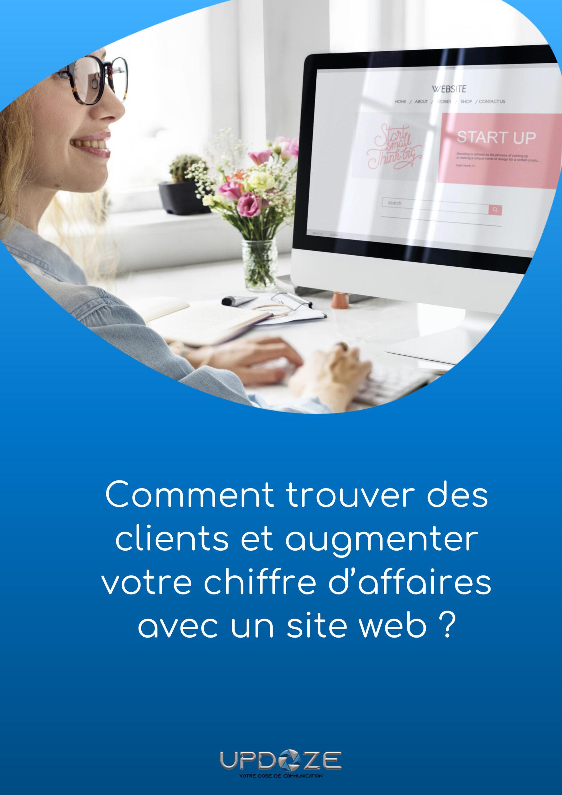 trouver de client sur le web