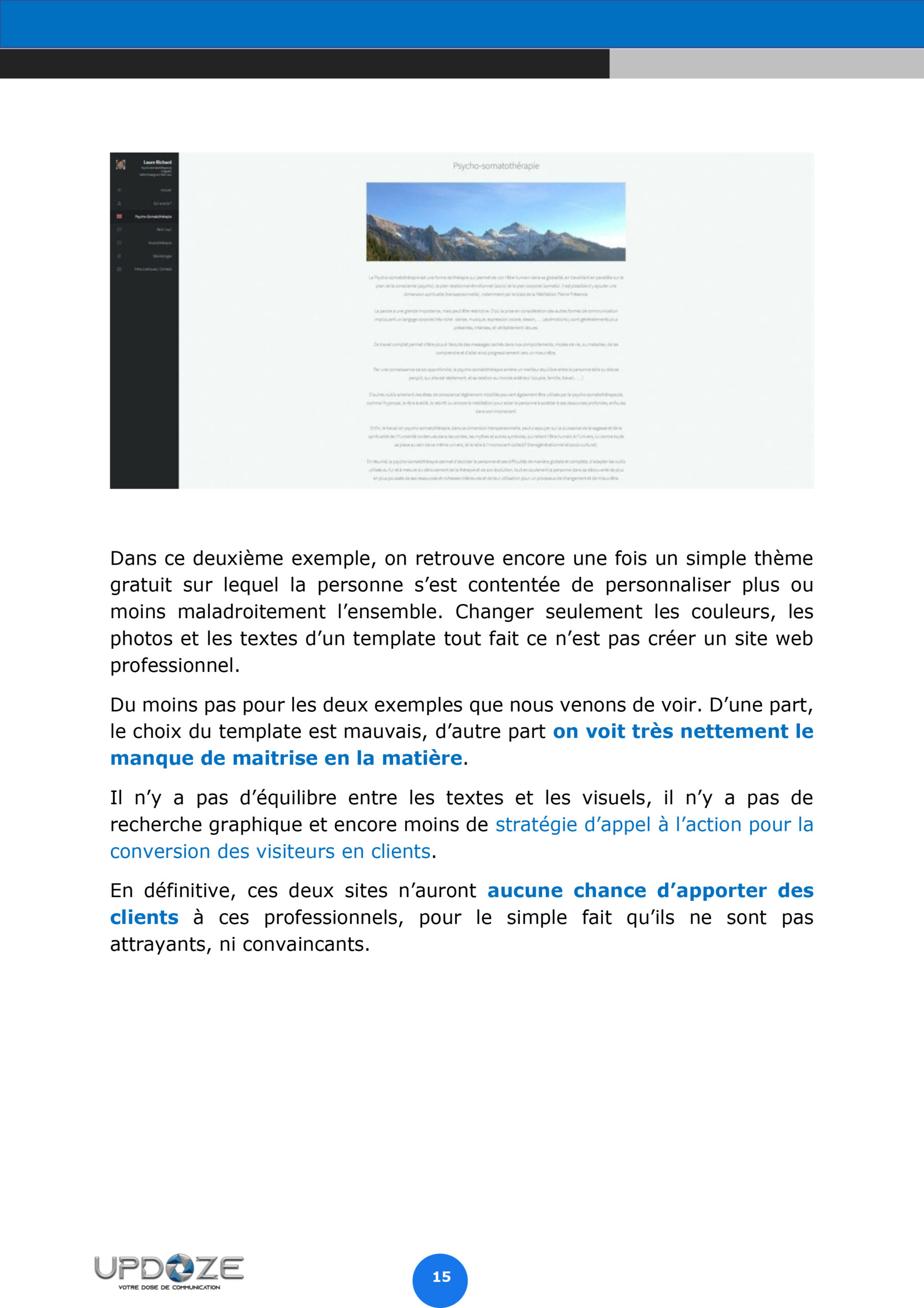 page 16 ebook trouver de client sur le web
