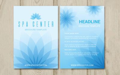 6 choses à savoir avant de créer votre flyer dans le secteur du bien-être et de la thérapie