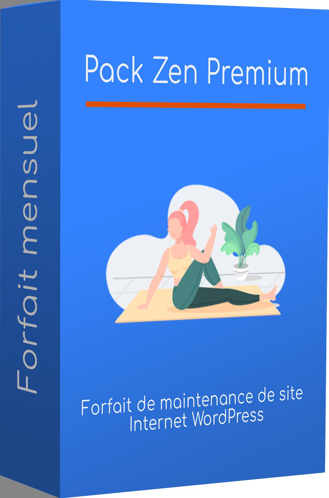 forfait maintenance wordpress pack zen premium updoze