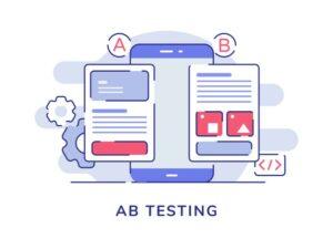 augmenter le taux de conversion site A B testing illustration